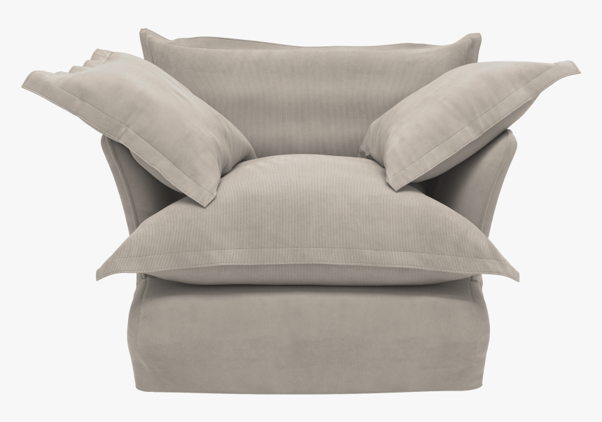 """Oyster Corduroy Song Armchair""""  Class=""""lazyload Lazyload - Maker And Son Linen Song Armchair, HD Png Download, Free Download"""