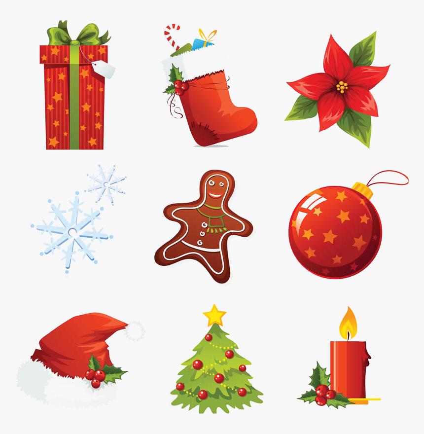 Xmas Elements Png Download Image Christmas Icon Free Christmas Icon Free Vector Transparent Png Kindpng