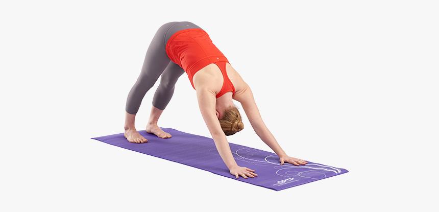 496 Yoga Mat In Use Yoga On Mat Png Transparent Png Kindpng