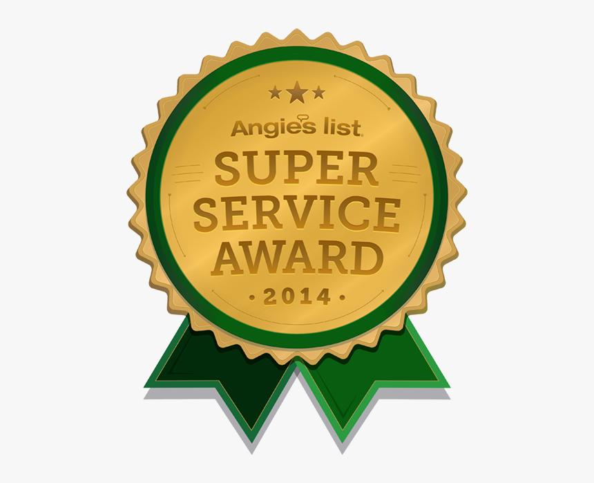 Angie's List Super Service Award - Angie's List Super Service Award 2014, HD Png Download, Free Download