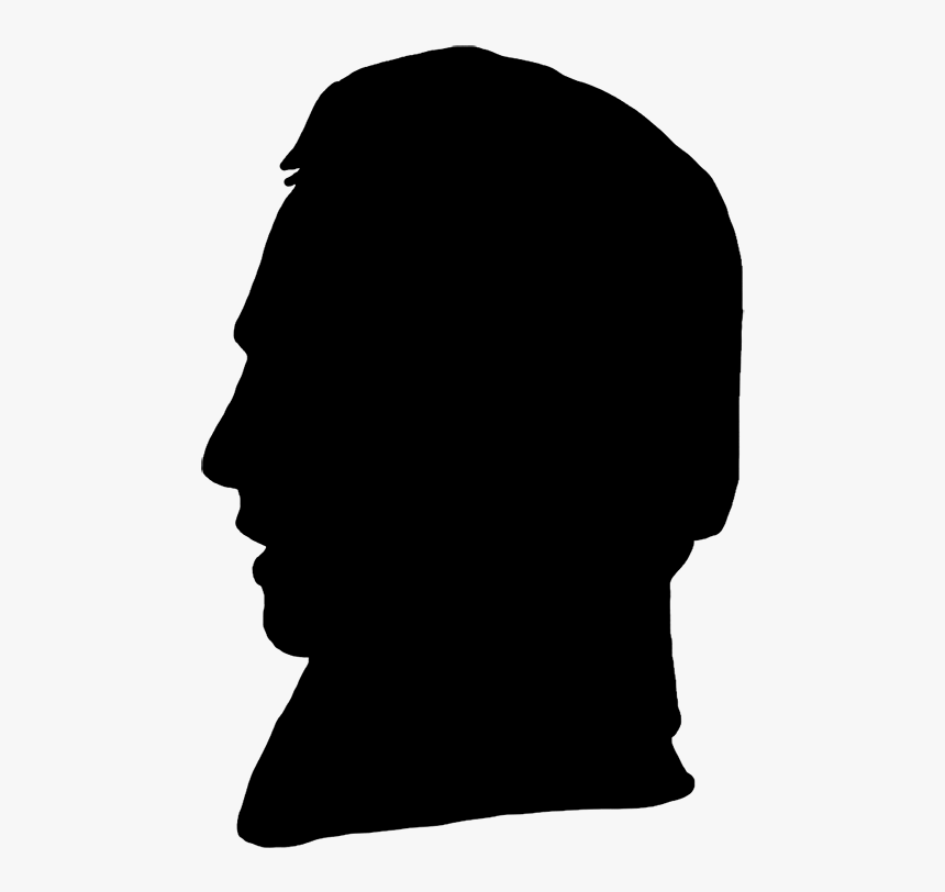 Profile Silhouette - Human Head Clipart, HD Png Download, Free Download