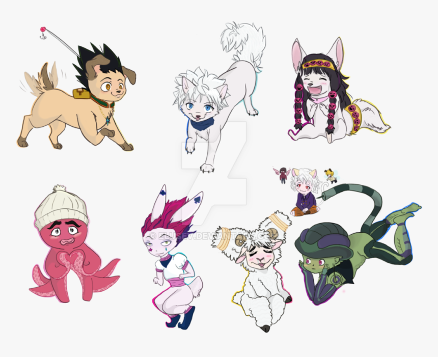 Transparent Hunter X Hunter Png - Hunter X Hunter Chibi, Png Download, Free Download