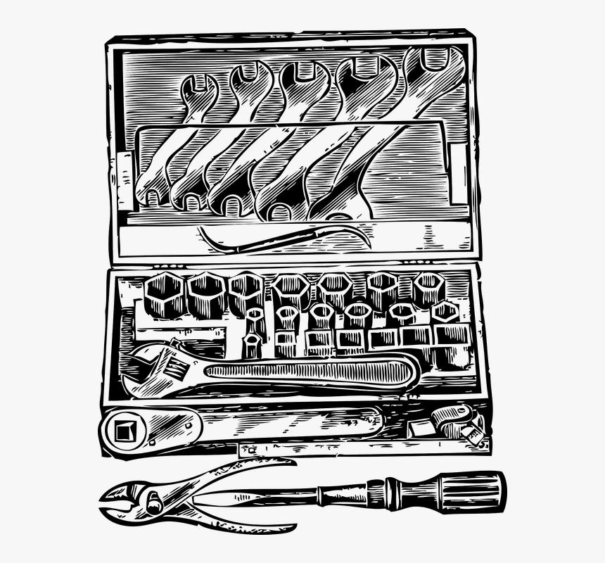 Toolbox, Tool Box, Tools, Tool Kit, Work Box - Tool Box Clip Art, HD Png Download, Free Download