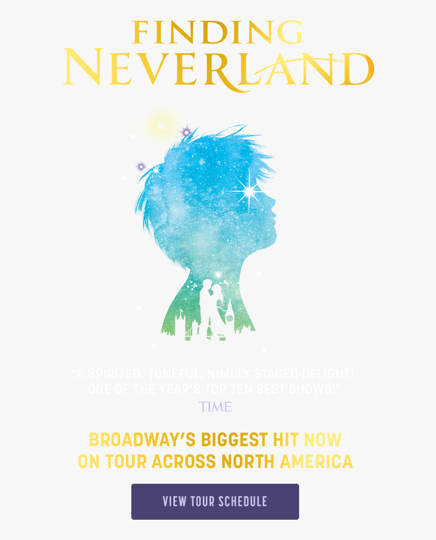 Finding Neverland Broadway Logo, HD Png Download, Free Download