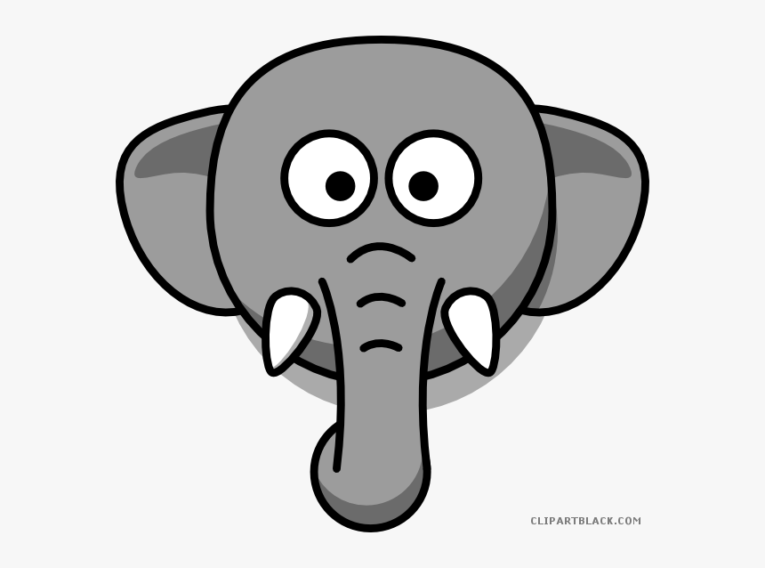 Elephant Head Animal Free Black White Clipart Images Elephant Face Drawing Cartoon Hd Png Download Kindpng Elephants are large mammals of the family elephantidae and the order proboscidea. elephant face drawing cartoon hd png