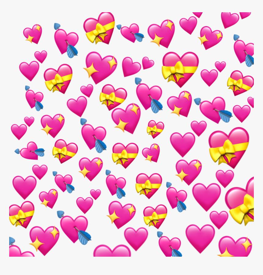#overlay #overlays #heart #hearts #iphone #emoji #iphoneemoji - Overlay Heart Emoji Png, Transparent Png, Free Download