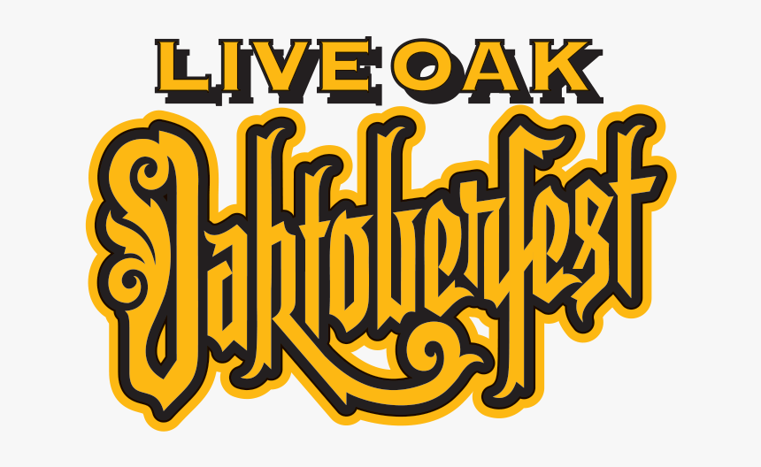 Live Oak Oaktoberfest - Live Oak Brewing Company, HD Png Download, Free Download