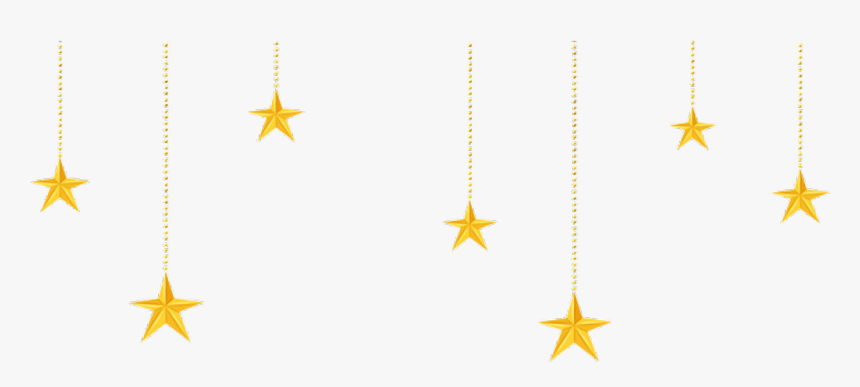 #png #png #stars #sticker #mon #june #-larenialuv # - Hanging Gold Stars Clipart, Transparent Png, Free Download