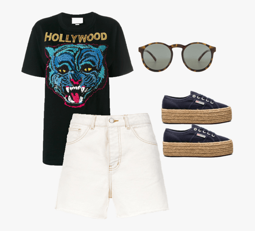 Crazy For Coachella - Gucci Hollywood T Shirt, HD Png Download, Free Download