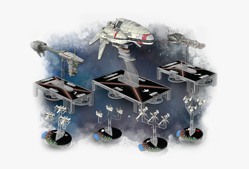 Star Wars Armada Fighter Squadrons, HD Png Download, Free Download