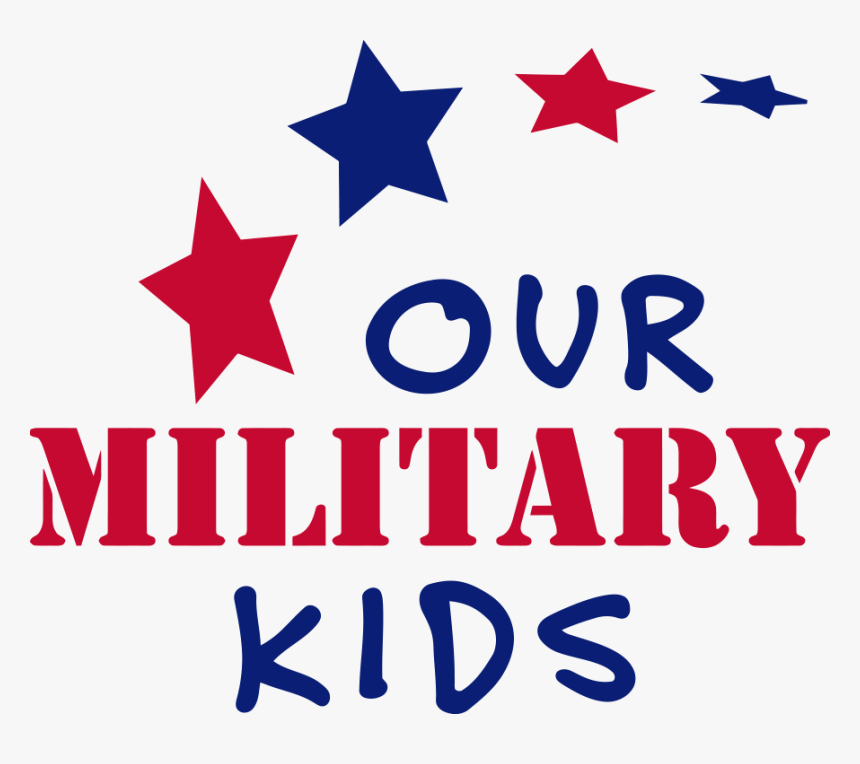 Our Military Kids Logo Clipart , Png Download - Our Military Kids Logo, Transparent Png, Free Download