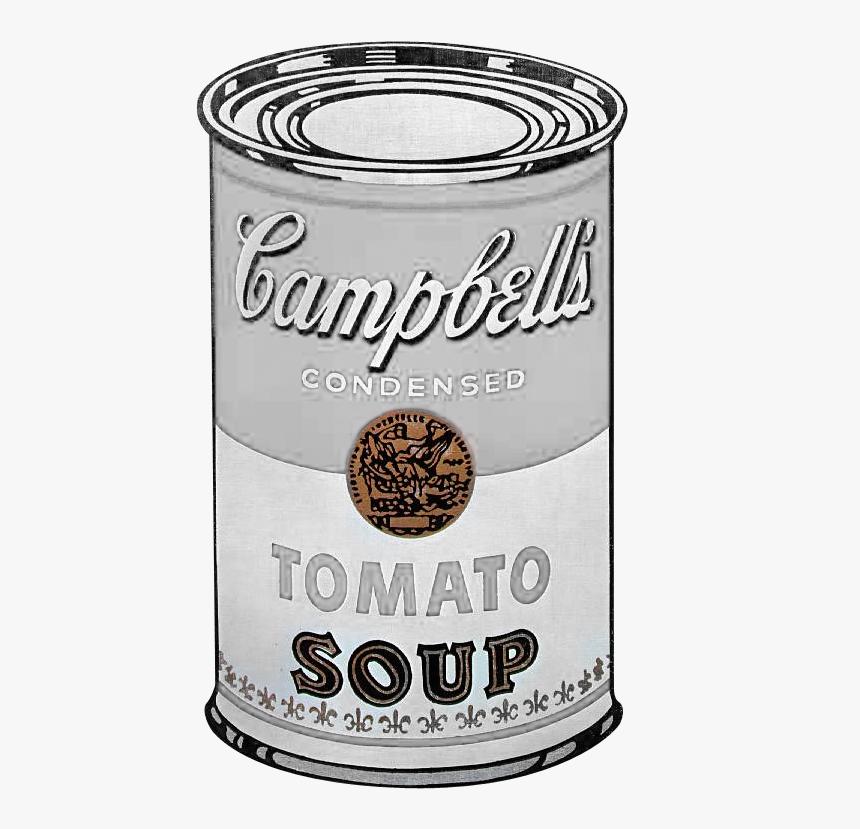 Lata Campbells Andy Warhol, HD Png Download, Free Download