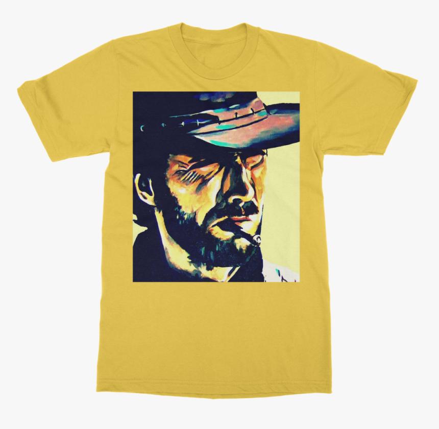 "Clint Eastwood Classic Adult T-shirt""  Class= - Clint Eastwood Pop Art, HD Png Download, Free Download"