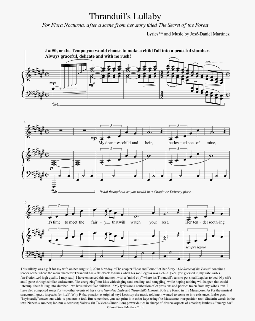 Beauty And The Beast Musescore, HD Png Download, Free Download