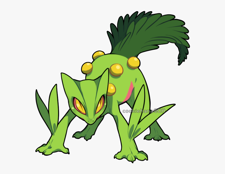 Pikachu Toad Fictional Character Leaf Fauna Frog Clip - Imagens Do Pokémon Sceptile, HD Png Download, Free Download