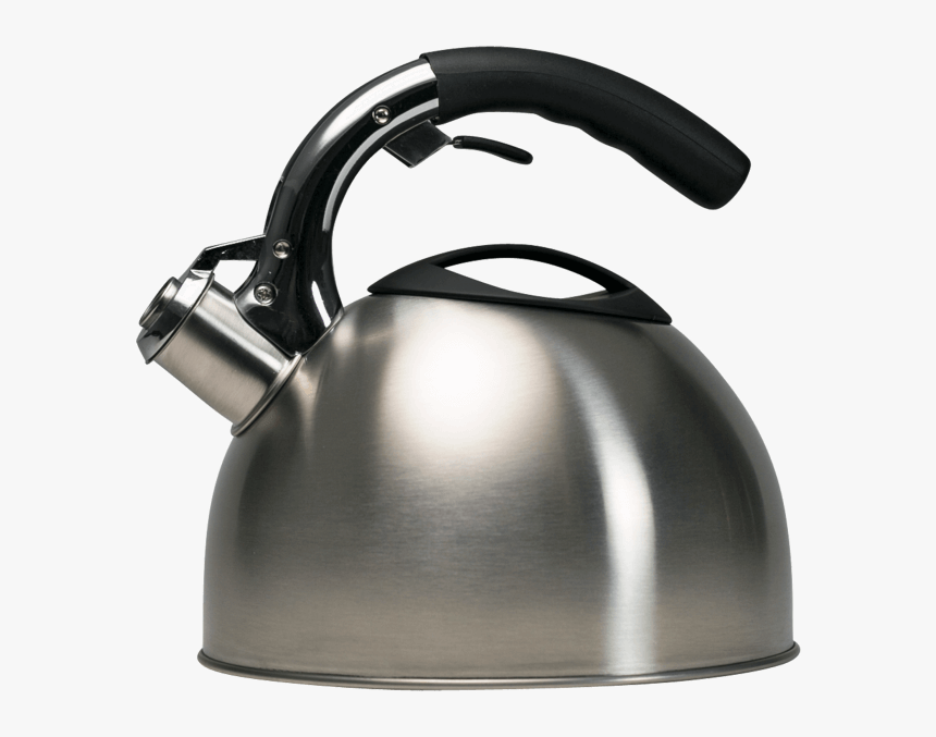 Soft Grip Whistling Tea Kettle No Background - Water Kettle Transparent Background, HD Png Download, Free Download