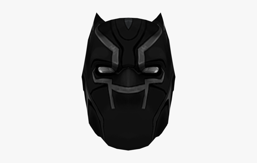 Black Panther Mask Roblox Hd Png Download Kindpng