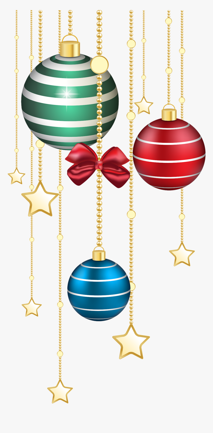 Christmas Clipart, Christmas Balls, Merry Christmas, - Free Christmas Clipart Ornaments, HD Png Download, Free Download