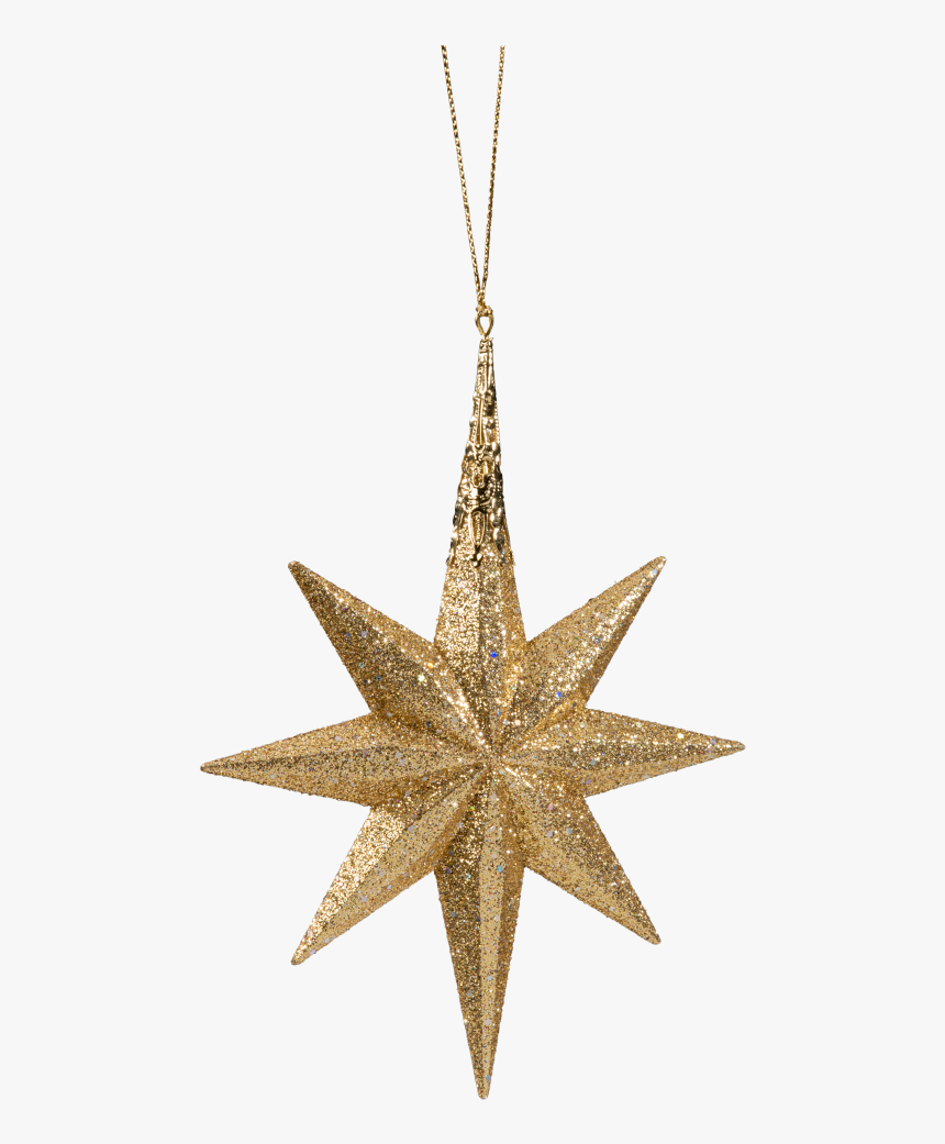 Christmas-ornament - Elongated Stars, HD Png Download, Free Download