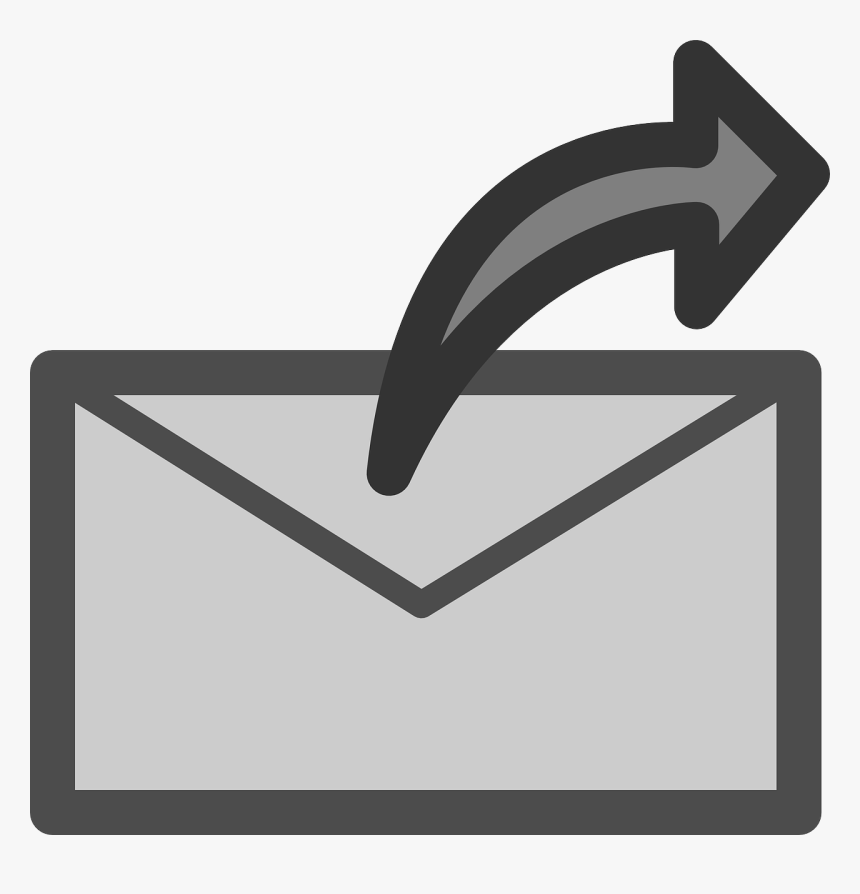 Mail, Flat, Theme, Action, Send, Icon - Send Clipart, HD Png Download, Free Download