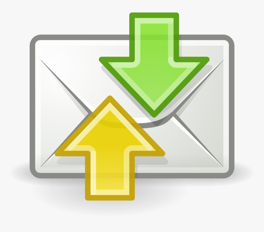Email Send And Receive, HD Png Download, Free Download