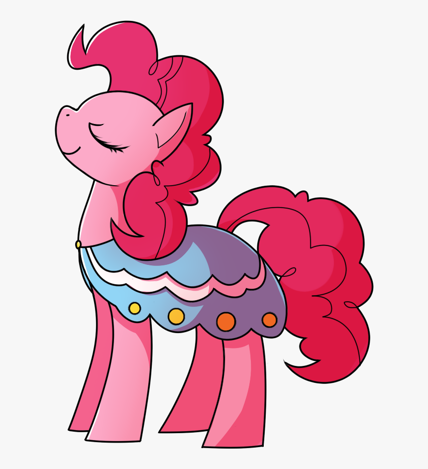 Amazingmollusk, Clothes, Dress, Earth Pony, Eyes Closed, - Cartoon, HD Png Download, Free Download