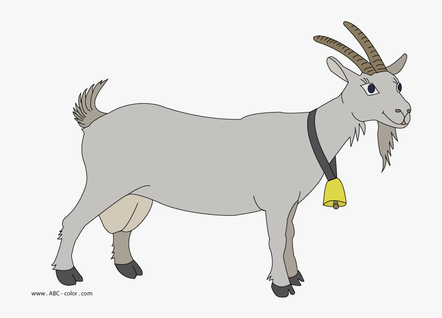 Raster Picture - Transparent Background Goat Clipart, HD Png Download, Free Download