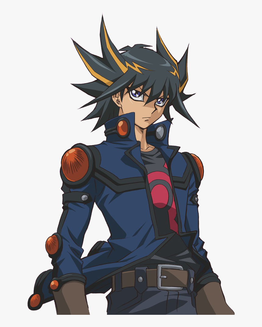 Yugioh Hair Png - Yu Gi Oh 5ds Yusei, Transparent Png, Free Download