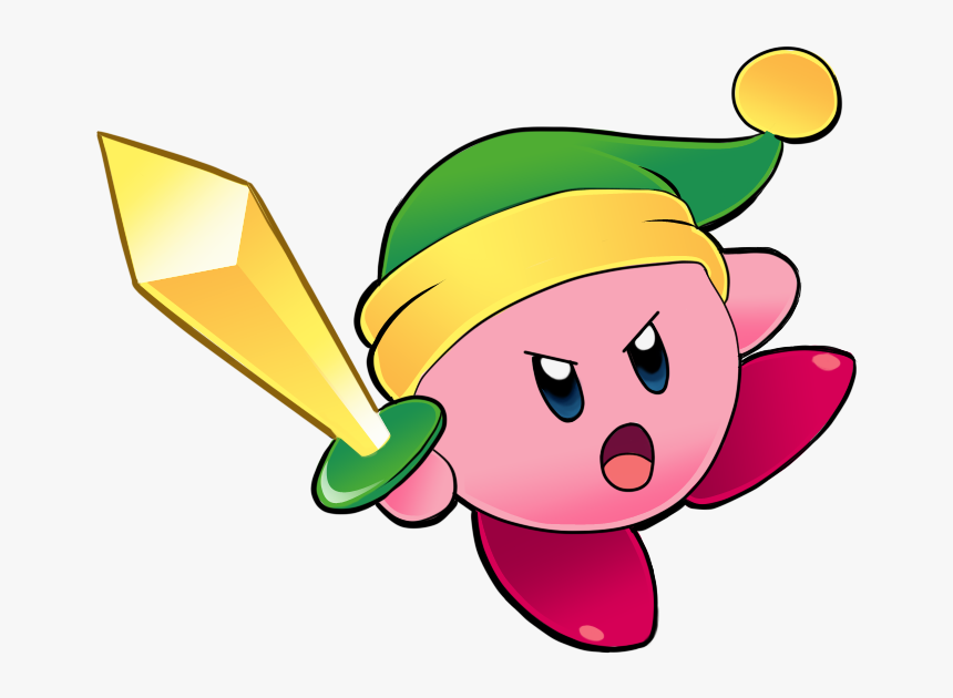 This Old Copy Ability Was One Of The Oldest And Simplest - Kirby With Sword, HD Png Download, Free Download