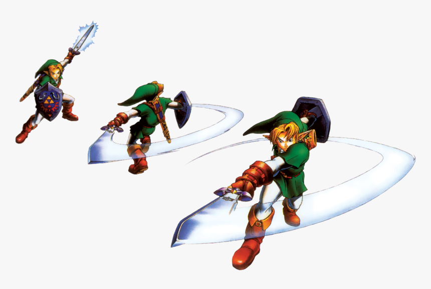 Link Spin Attack Oot - Link Spin Attack Png, Transparent Png, Free Download