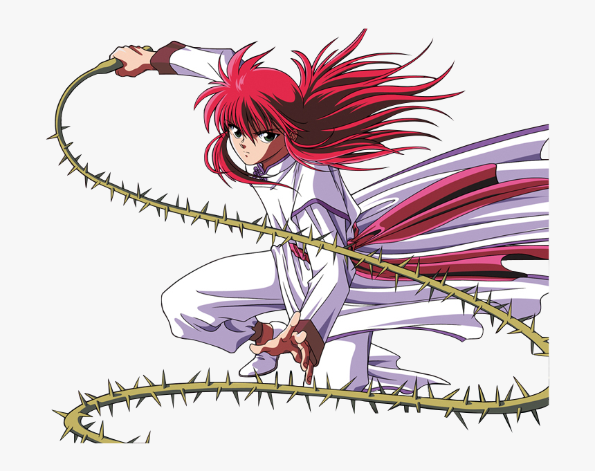Character Profile Wikia - Kurama Yu Yu Hakusho, HD Png Download, Free Download