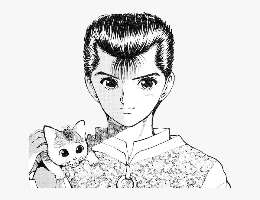 Yusuke Urameshi, Yu Yu Hakusho , Png Download - Traço Yu Yu Hakusho, Transparent Png, Free Download