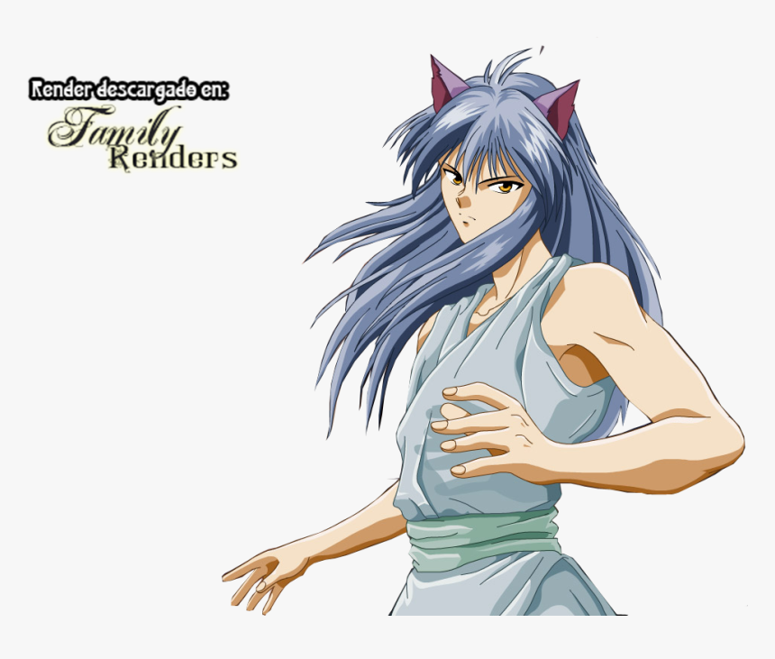Anime Family Renders Png Yoko Kurama - Kurama Yuyu Hakusho Png, Transparent Png, Free Download