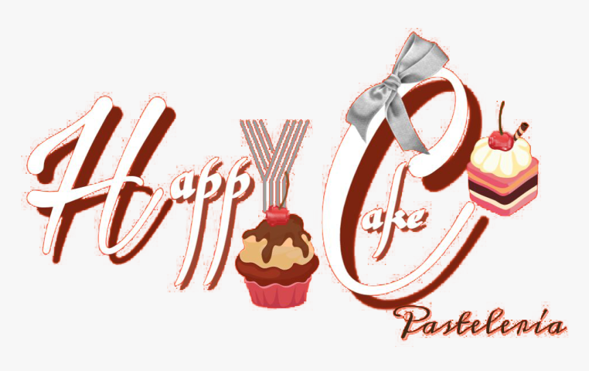 Pastelería Happy Cake Logo - Illustration, HD Png Download, Free Download