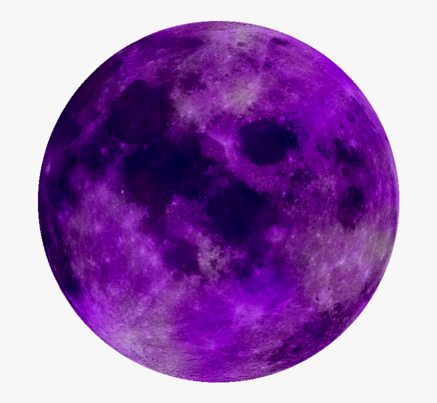 Circle Profile Picture Tumblr - Moon Purple Png, Transparent Png, Free Download