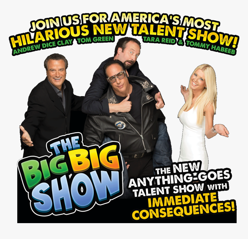 This Hilarious Competition-style Reality Show Is Big, - Big Show Sign, HD Png Download, Free Download