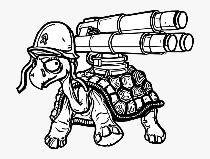 Nerf Gun Coloring Book Staggering Pages Picture Transparent - Coloring Pages  Of Gypsy Danger, HD Png Download - Kindpng