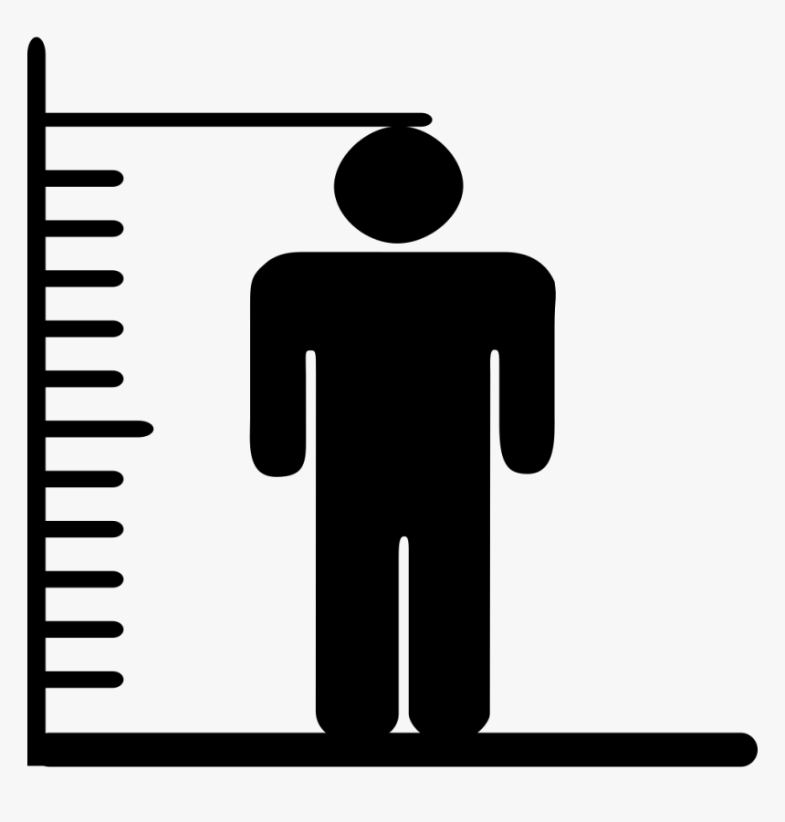 Weights Svg Cowbell - Height And Weight Icon, HD Png Download, Free Download