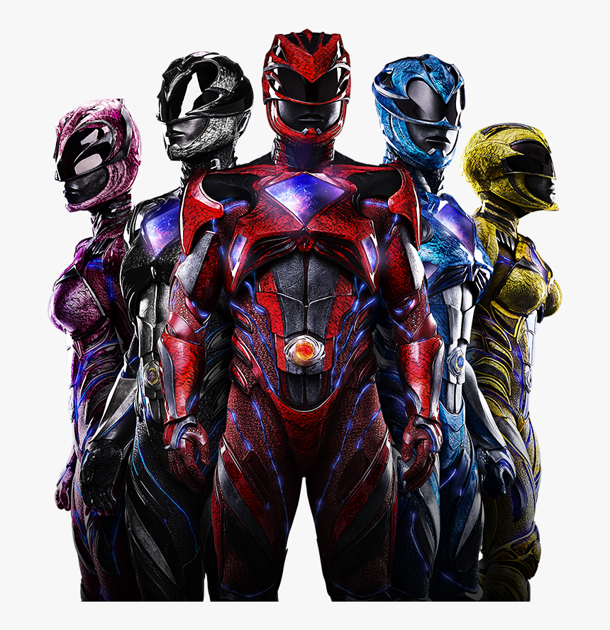Power Rangers 2017 Png, Transparent Png, Free Download
