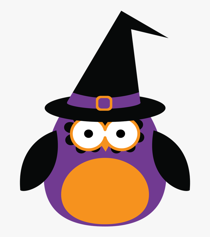 Halloween Clipart Witch Hat - Dibujos Infantiles Halloween, HD Png Download, Free Download