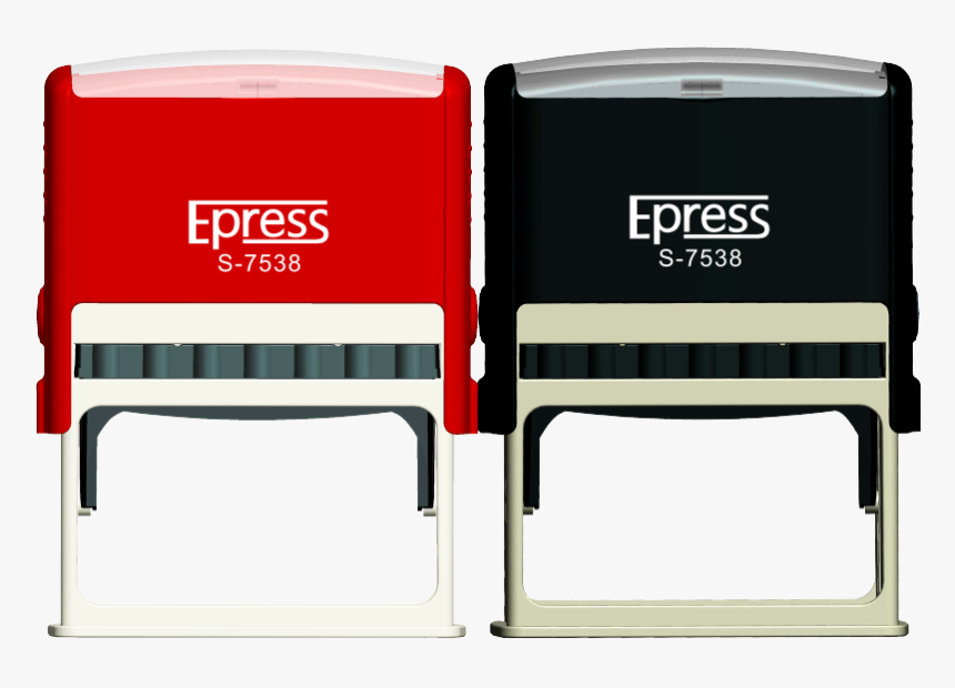 China Epress Size 75x38mm Office Use Automatic Date - Automatic Stamp Machine, HD Png Download, Free Download