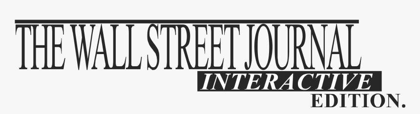 The Wall Street Journal Ie Logo Png Transparent - Wall Street Journal, Png Download, Free Download
