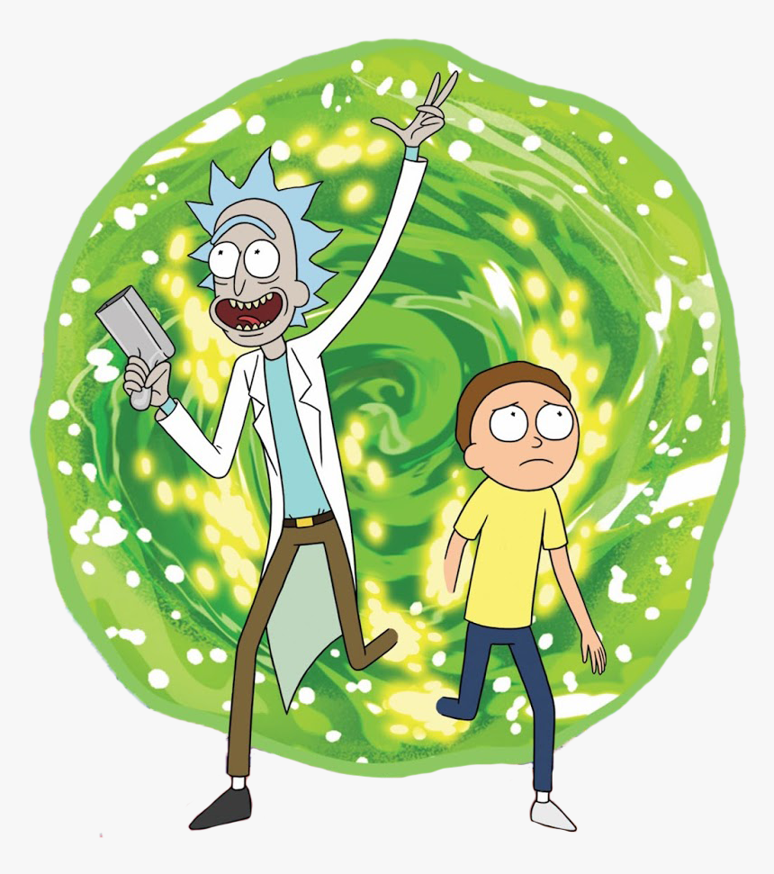 Rick Y Morty Png, Transparent Png, Free Download
