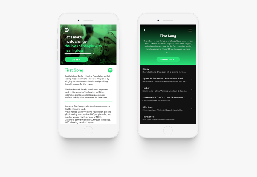 Spotify Make Music Change First Song - Iphone, HD Png Download, Free Download