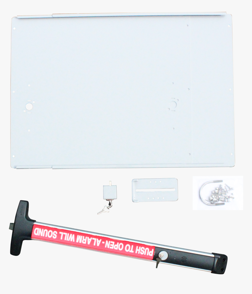 The Detex Superior Exit Bar Kit Is Made To Be Reliable - Display Device, HD Png Download, Free Download