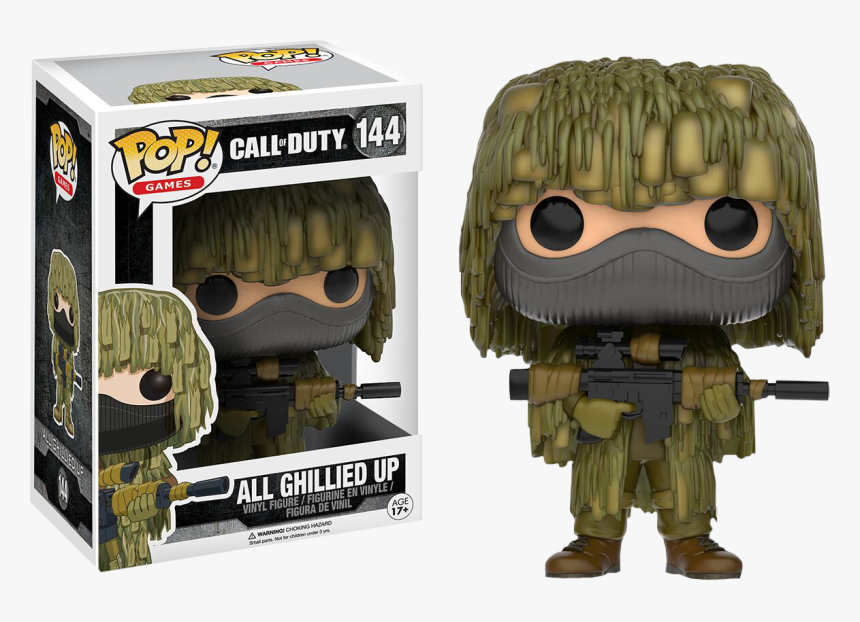 Transparent Call Of Duty Soldier Png - All Ghillied Up Funko Pop, Png Download, Free Download