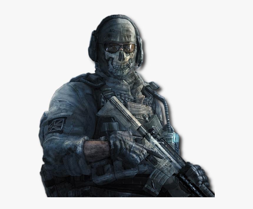 Call Of Duty Wiki - Duty Modern Warfare 2 Ghost, HD Png Download, Free Download