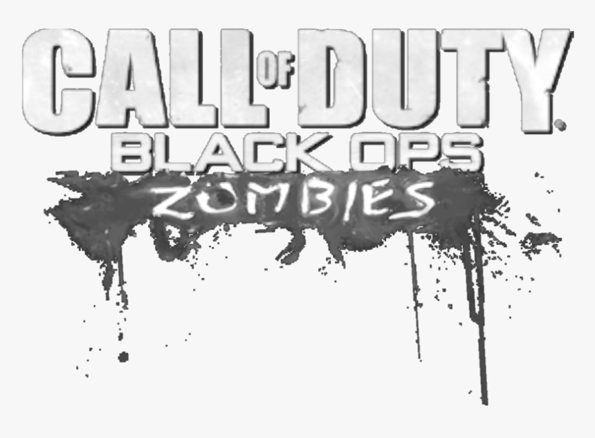 Call Of Duty Zombie Png Black Ops 1 Zombies Logo Transparent