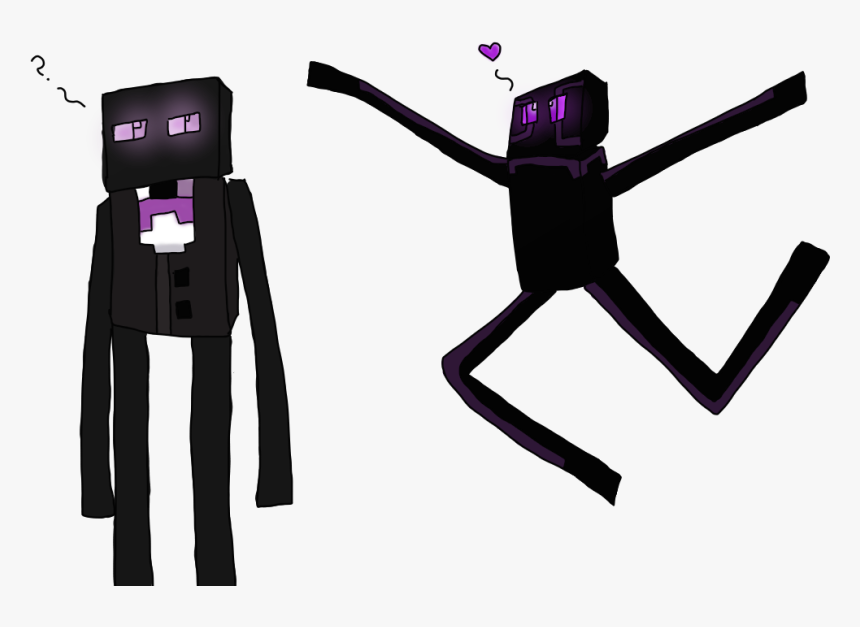 Minecraft Images Purple And Bart Hd Wallpaper And Background - Minecraft Skin Bart The Enderman, HD Png Download, Free Download