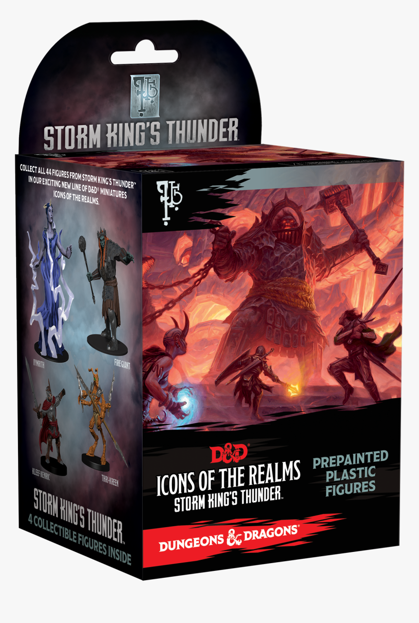 Dnd Wizkids Iconsoftherealms Stk Boxshot - Icons Of The Realms Storm King's Thunder, HD Png Download, Free Download